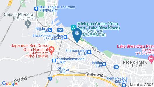Biwako Hotel Map