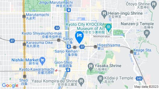 RESI STAY GIONDO KYOTO Higashiyama Sanjo Map