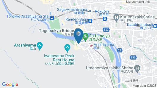 JAPANING Hotel Liv Ranroukaku Map