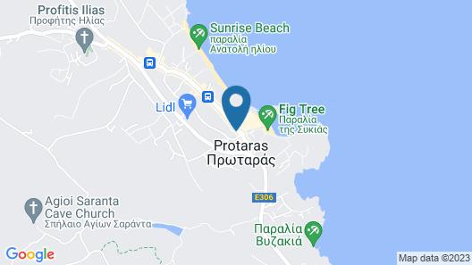 Alva Hotel Apartments Map