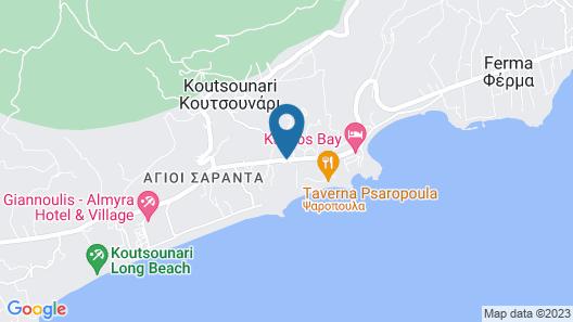 Sunshine Crete Beach - All Inclusive Map