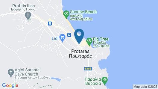 Capo Bay Hotel Map