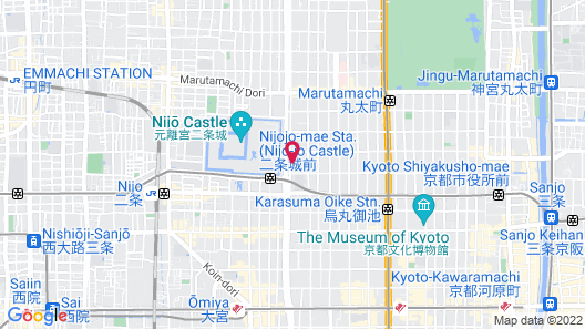 ANA Crowne Plaza Kyoto, an IHG Hotel Map