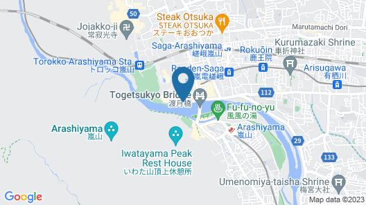 Ryotei Rangetsu Map