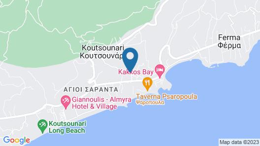 Sunshine Crete Village - All Inclusive Map