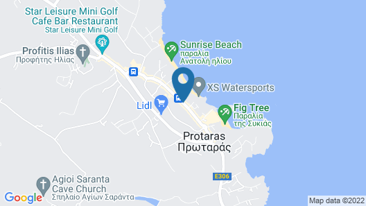 Vangelis Hotel & Suites Map