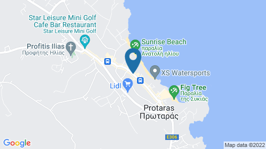 Sunrise Beach Hotel Map