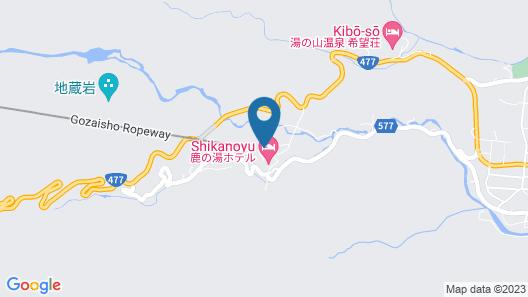 Hotel Yunomoto Map