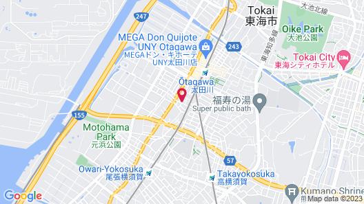 THE Kato Hotel Otagawa Map