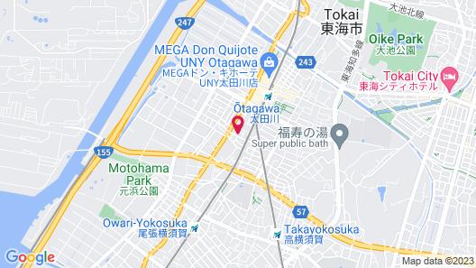 The Kato Hotel Map