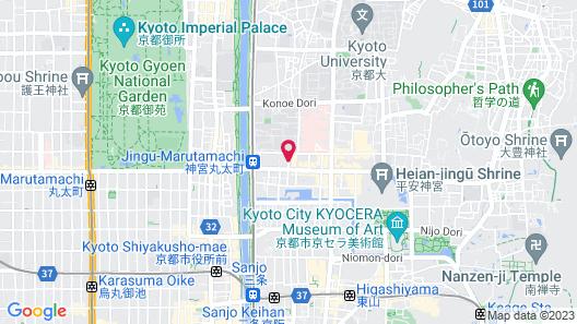 Hostel Niniroom Map