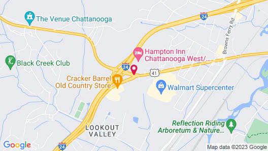 Fairfield Inn & Suites by Marriott Chattanooga Map