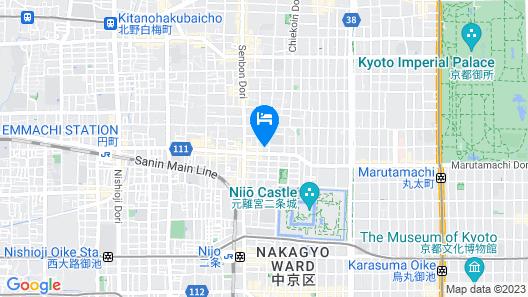 Shin Nijojo Map