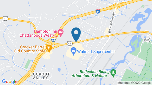 Quality Inn & Suites Map