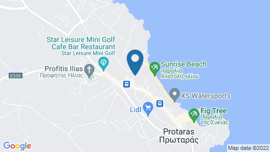 Mandali Hotel Apartments Map