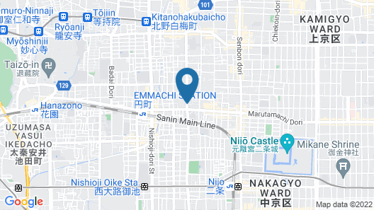 JAPANING HOTEL Gozen Map