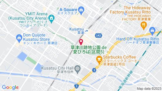 Urban Hotel Kusatsu Map