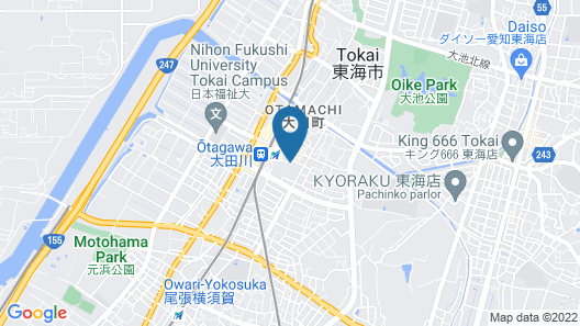 AB Hotel Tokai Otagawa Map