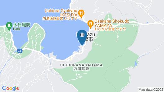 Izu Mitsuhama Syoutoukan Map