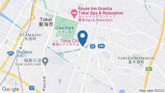 Tokai City Hotel Map