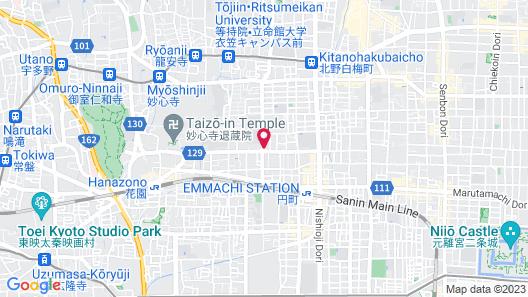 Tsubaki Ann Kyoto Map