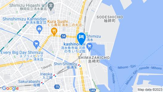 HOTEL MYSTAYS Shimizu Map