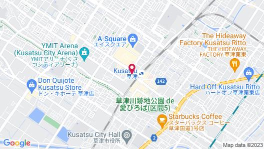 Hotel Boston Plaza Kusatsu Map