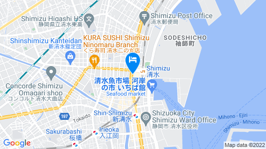 Hotel Quest Shimizu Map
