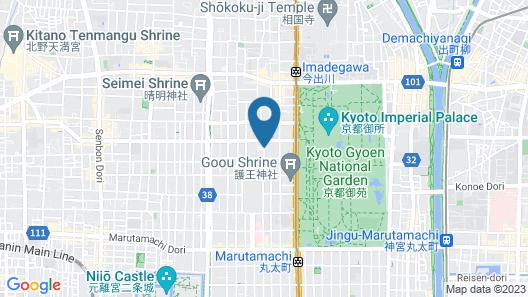Kyoto Brighton Hotel Map