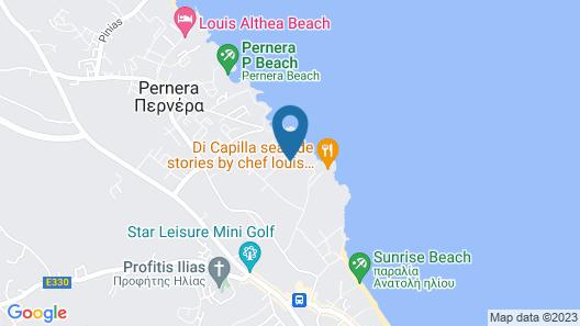 Protaras Villa Euphoria Map