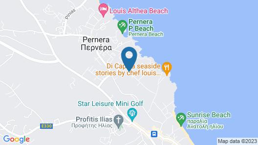 Tsokkos Gardens Hotel Map