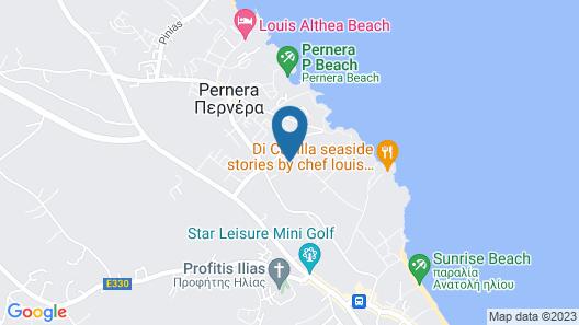 Bohemian Gardens Hotel Map