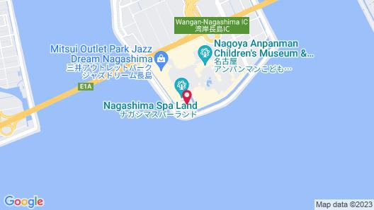 Hotel Nagashima Map