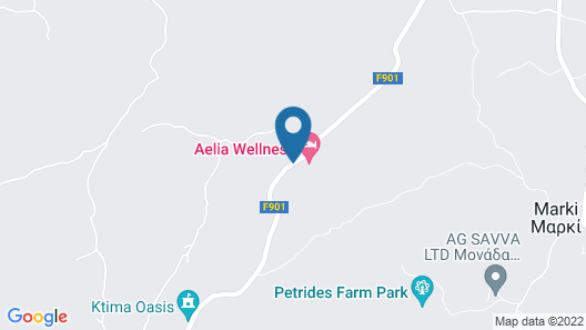 Aelia Wellness Retreat Map