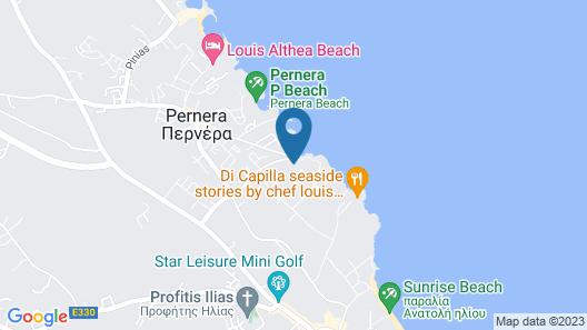 Marlita Beach Hotel Apartments Map