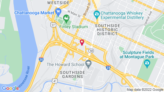 District 3 Hotel, Ascend Hotel Collection Map