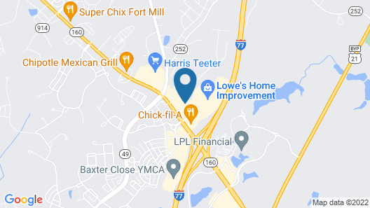 Holiday Inn Express & Suites Fort Mill, an IHG Hotel Map