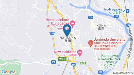 Izu Nagaoka Hotel Tenbo Map