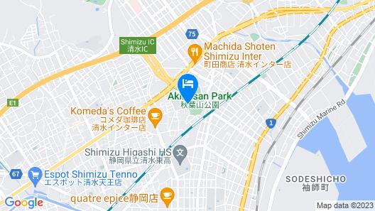 Hotel Route-Inn Shimizu Inter Map