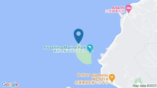 Wyndham Grand Awashima Map