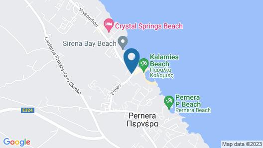 The Golden Coast Beach Hotel Map
