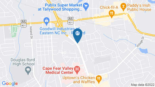 Extended Stay America Suites Fayetteville Owen Dr Map