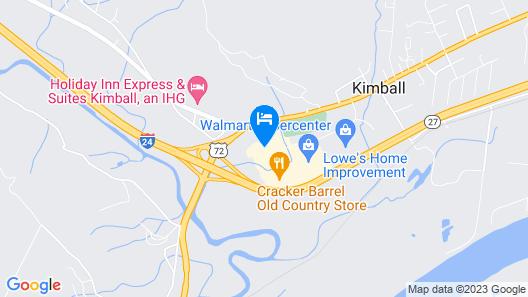 Best Western Kimball Inn Map