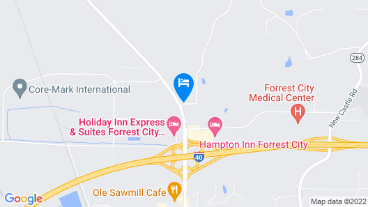 Diamond Inn Map