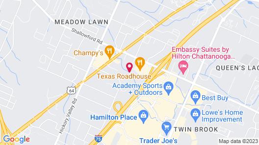 Holiday Inn Hamilton Place, an IHG Hotel Map