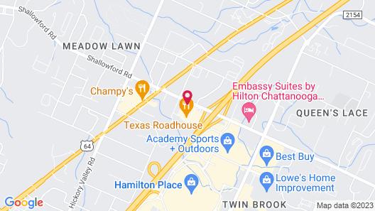 Tru By Hilton Chattanooga Hamilton Place Map