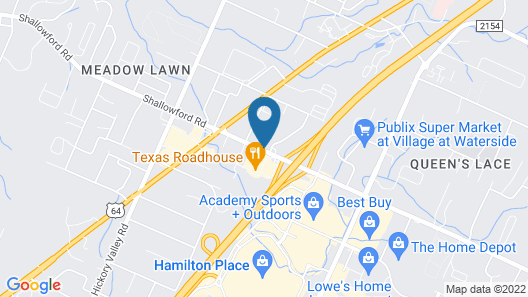 Staybridge Suites Chattanooga at Hamilton Place, an IHG Hotel Map