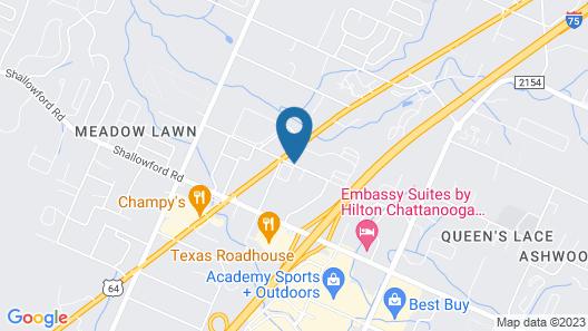 Microtel Inn by Wyndham Chattanooga/Near Hamilton Place Map