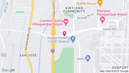 Hyatt Place Albuquerque Airport Map