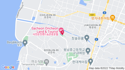 Sacheon Grand Hotel Map